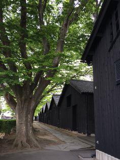 山居倉庫(酒田市)Sankyosoko,Sakata,Yamagata,Japan