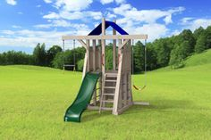 outdoor playset The Compact 4x4