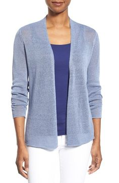 Eileen Fisher Open Front Straight Cardigan (Regular & Petite) available at #Nordstrom