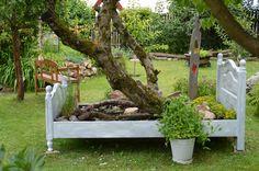 "Gartenbett ""das Bett als Stammhalter"""
