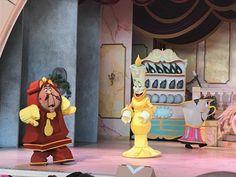 Musical emocionante cheio de detalhes A Bela e a Fera Disney Hollywood Studios