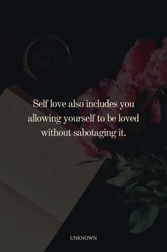 Self love also includes you allowing yourself to be loved without sabotaging it. Excuses Quotes, Soul Cleansing, Better Off Alone, Love Is When, Text Back, Lessons Learned In Life, Im Single, Self Control, Make Time