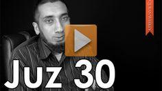 Juz 30 [Quranic Gems] | QuranWeekly