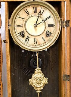 Antique Ingraham FANCY 8 DAY Gingerbread Clock | #495197396