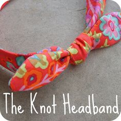 the red kitchen: The Knot Headband