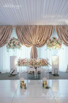 103 best Wedding Head Tables images on Pinterest in 2018   Floral ...