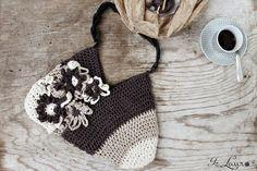 Come realizzare una borsa con 2 cappelli lavorati all'uncinetto – Is laura
