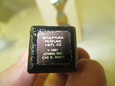 Vintage 1981 Jovan Perfume Sculptura 1/8 oz original box in Collectibles, Vanity, Perfume & Shaving, Perfumes, Commercial Bottles/Tins | eBay