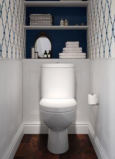 BATHLINE Bathroom Cloakroom Design Bathrooms Northern Ireland is part of Small toilet decor - Small Toilet Decor, Toilet Room Decor, Small Toilet Room, Minimal Bathroom, Simple Bathroom, Bathroom Ideas, Bathroom Organization, Bathroom Remodeling, Bathroom Furniture