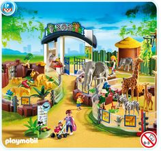 Playmobil Zoo, super cool for 4th birthday