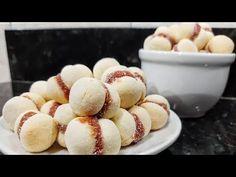 BISCOITO CASADINHO FÁCIL (POR FERNANDO COUTO) - YouTube Eggs, Breakfast, Youtube, Food, Corn Starch, Guava Fruit, Easy Trifle Recipe, Crack Crackers, Cook