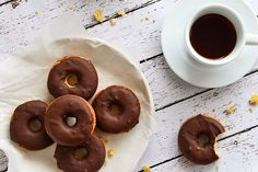 Tasty Kitchen Blog: (Coconut Flour) Cake Donuts. Guest post by Faith Gorsky of An Edible Mosaic, recipe submitted by TK member Traci of LottaMadness.