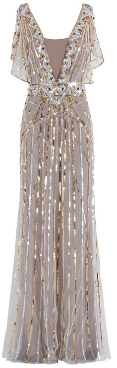 TEMPERLEY LONDON  Sequin Gown  dressmesweetiedarling