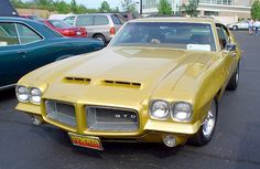 Cannot forget the look of the '72 GTO.