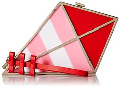 kate spade new york Go Fly A Kite Clutch Cherry Liqueur, One Size - LEARN MORE INFO @: http://www.passion-4fashion.com/handbags/kate-spade-new-york-go-fly-a-kite-clutch-cherry-liqueur-one-size/