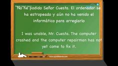"""En la oficina"". Aprende español. Nivel intermedio. www.speakeando.com"