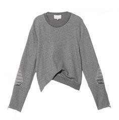 3 1 Phillip Lim Twisted Sweatshirt 3.1 Phillip Lim