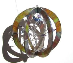 A beautiful piece of 3D Stained Glass.