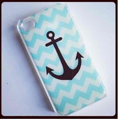 Anchor phone case Anchor Phone Cases, Cool Phone Cases, Iphone Cases, 4s Cases, Shoe Nails, Ipod, Smartphone, Anchors, Phones