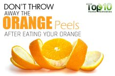 Prev post1 of 3Next We all know that oranges are good for our health, mainly due to their high vitamin C content. They are also packed with vitamins A and B, calcium, magnesium, potassium, phosphorus, soluble fiber and other nutrients. After enjoying this tangy fruit, most of us throw away the peels. But in doing