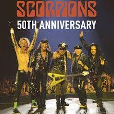 """Gli Scorpions festeggeranno i 50 anni di carriera con un tour chiamato """"Return to Forever - 50th Anniversary"""". Saranno tre le date italiane: Roma, Milano e Trieste.  Biglietti in vendita alle ore 10 di giovedì 18 dicembre!"""