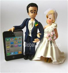 iPhone Cake Topper
