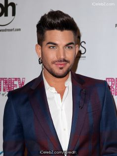 Adam Lambert   Red Carpet for Grand Opening of