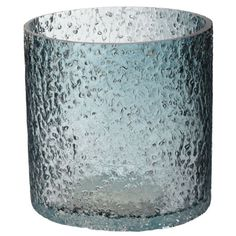 Chipped glass hurricane with a hand-applied finish.    Product: HurricaneConstruction Material: GlassColo...