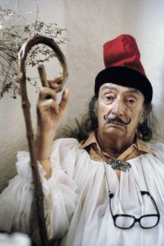 Dalí by Robert Lebeck