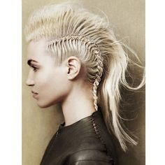 Sheild maiden hair | Vikings | Pinterest ❤ liked on Polyvore featuring people