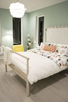 Ikea girls bedroom in the Philadelphia Magazine's Design Home 2016