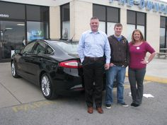We have yet another car pulling off the lot today! Here is Mr. Joey Achenbach and his BRAND NEW 2015 Ford Fusion SE! Joey traded in his 2007 Ford Fusion S with help from our wonderful, talented Jennifer Hughes! From all of us here at Ford of Murfreesboro, congratulations on your new car, and welcome to the Ford family!