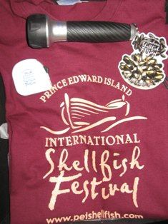Another Shellfish inpired gift back for those #seafood lovers on your #Christmas list! This pack includes a #PEI #Shellfish #Festival #T-Shirt, Magnet, #Flashlight, and Tape Measure all for only $25!! — at 101 Longworth Avenue, Charlottetown PE, C1A 5A9.