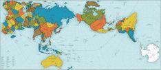 Neue Sicht: Japanischer Designer erschafft genaueste Karte der Erde | Berliner Zeitung