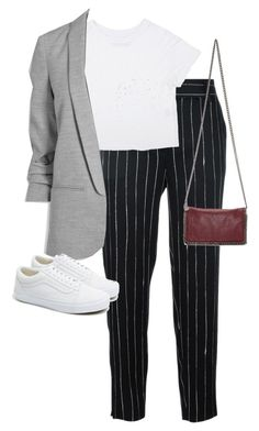 """""""Untitled #13374"""" by alexsrogers ❤ liked on Polyvore featuring DKNY, Vans and STELLA McCARTNEY"""