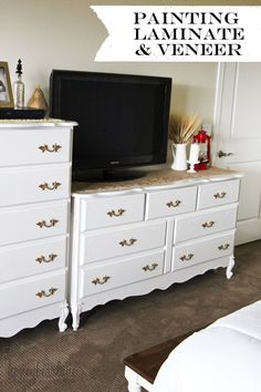 How+to+paint+Laminate+and+Veneer