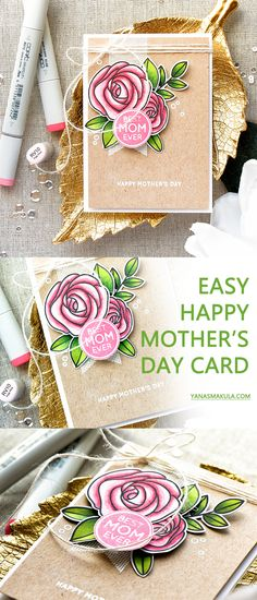 Mother's Day Cards – These cost-free printable Mom's Day cards make sure to place a smile on any Mother's face. Read Cute Free Printable Mother's Day Cards Happy Mother's Day Card, Happy Mom, Happy Mothers Day, Mom Cards, Kids Cards, Mothersday Cards, Mother's Day Diy, Beautiful Handmade Cards, Mothers Day Crafts