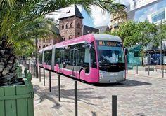 Pink bus Van Hool ExquiCity | Mettis in Metz – Aufnahme: H. Hondius
