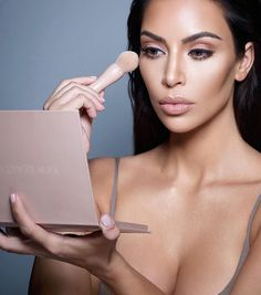 "1,023 Likes, 5 Comments - @kardashianuniverse_ on Instagram: ""New @kkwbeauty powder contour and highlight kits are coming soon!! (How gorgeous does Kim look?!…"""