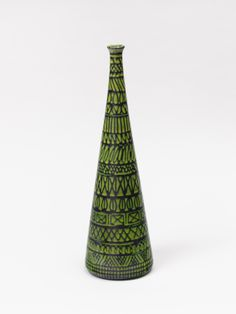 Pol Chambost; Glazed Ceramic Vase, 1960.