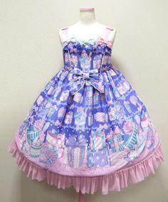 Angelic Pretty ラッピングハートジャンパースカート