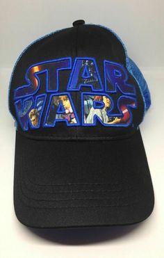 super popular a6673 89d33 Baseball Hat Star Wars Episode IV  A New Hope Snap-Back Embroidered Blue