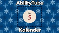 Tür 5 des 🎅 #AbilityTubeKalender 🎄 hält Paloma in Action für Euch bereit! Influencer, Diagram, Chart, Tags, Action, Movie Posters, Advent Calenders, Glee, Group Action