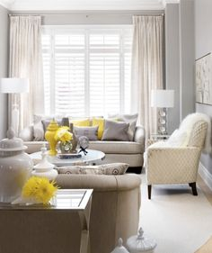 grey and yellow living room starting to love these colors together still love pink