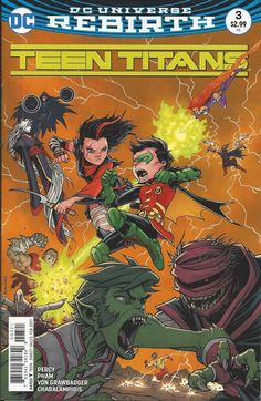 DC Rebirth Teen Titans comic issue 3 Limited variant