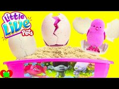 Trolls Poppy Glitter Glam Cosmetics Set with LOL Doll Surprises - YouTube