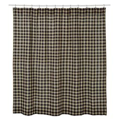 Sewing Curtains Burlap Black Check Shower Curtain – Primitive Star Quilt Shop - You will love the charm of our Burlap Black Check Shower curtain! This patchwork shower curtain goes with other accents from Primitive Star Quilt Shop. Primitive Shower Curtains, Burlap Shower Curtains, Primitive Bathroom Decor, Black Shower Curtains, No Sew Curtains, Primitive Kitchen, Rod Pocket Curtains, Primitive Decor, Country Primitive