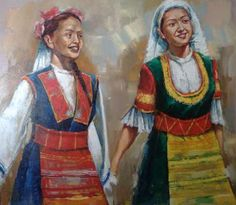 хоро Димитър Лопарски Alcohol Store, Folklore, Art Gallery, Bulgarian, Drawings, Painting, Heart, Art Museum, Bulgarian Language