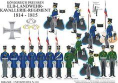 Elbe Landwehr Cavalry 1814-1815