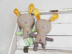 bunnies doll / Břichopas toys